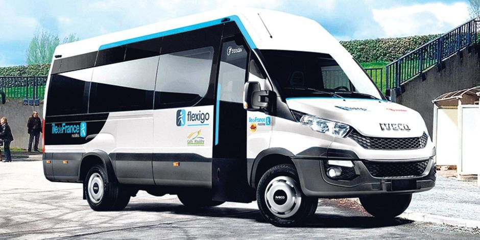 Flexigo: a new flexible on demand transport system available in Île-de-France